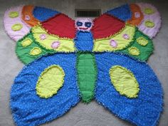 A new butterfly rag quilt
