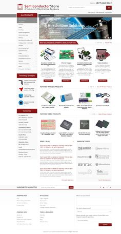 Create a new layout for a technology company