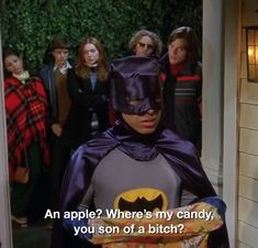 Happy Hallowen Everyone This clip is so funny (Thats 70 show Series Movies, Film Movie, Movies And Tv Shows, Tv Show Quotes, Movie Quotes, Thats 70 Show, Tim Drake Red Robin, In The Pale Moonlight, Talia Al Ghul