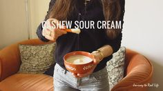 Spicy Beans and Cashew Sour Cream - to Real Life Raw Food Recipes, Gluten Free Recipes, Apple Vinegar, 5 Ingredient Recipes, Garam Masala, Real Life, Spicy, Beans