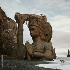 Shri Ganesh, Hanuman Chalisa, Arte Krishna, Arte Shiva, Relaxation Pour Dormir, Lord Hanuman Wallpapers, Hanuman Images, Lord Ganesha Paintings, 3d Video
