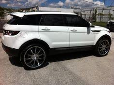 2013 Range Rover Evoque on Falken LX-10 wheels
