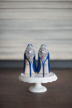Blue bridal shoes - Toronto sophisticated styled shoot - Bright reds, pinks and greens pulled from a graphic pattern Pucci inspired table linen - For full credits click on the pic ot go to www.blastevents.ca