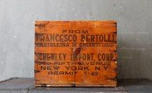 Red Chianti Crate