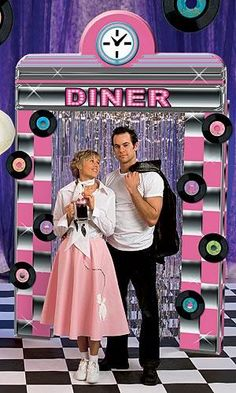 Fifties Diner, Fifties Party, Retro Party, Retro Diner, Grease Theme, Grease Party, Grease 2, 50s Theme Parties, Party Themes