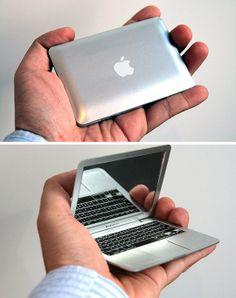 MirrorBook Air. 100% geeky. 100% Sheeple. 100% Love.
