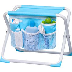 Summer Infant Tub-Side Parent Assist Seat http://summerinfant.com/tubsideseatandorganizer #organization #bathtime