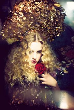 """""""Flowers of Desire"""" by Ellen von Unwerth for Vogue Japan July 2015"""