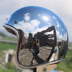 German Motorcycle Helmet, Motorcycle Helmets, Bicycle Store, New Bicycle, Vespa, Bike Magazine, Old School Chopper, Moto Cafe, Open Face Helmets