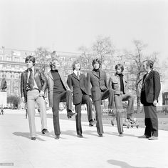 Johnny marches The Bee Gees through London as he gives them a taste of what's to come March Pictured (l to r) Vince Melouney, Colin Peterson, Robin Gibb, Barry Gigg & Maurice Gibb with Johnny Speight Robin Pictures, Top Comedies, Joining The Army, Barry Gibb, Drummer Boy, Band Of Brothers, The Monkees, Dolly Parton, Music Love