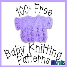 100 Free Baby Knitting Patterns