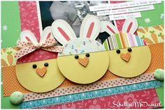 cute chick, bunnies
