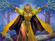 """Being of the Yellow isn't about skill...It's about passion. If you love to make things well, to fix that which is broken, there would be a purpose for you here.""""     —Suana Dragand  The Yellow Ajah of the Aes Sedai primarily studies Healing. The leader of the Yellow Ajah is called the First Weaver."""