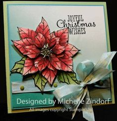Soft Christmas – Stampin' Up! Card by Michelle Zindorf