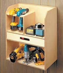Cordless Tool Storage Cabinet