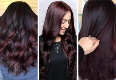 63 Hot Red Hair Color Shades to Dye for: Red Hair Dye Tips & Ideas 63 Hot Red Hair Color Shades to Dye for: Red Hair Dye Tips & Ideas – Station Of Colored Hairs Shades Of Red Hair, Ombre Hair Color, Brown Hair Colors, Brown Shades, Hair Colour, Dyed Tips, Hair Dye Tips, Box Braids Hairstyles, Feathered Hairstyles