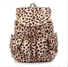 usd39.99/Cool Leopard Fashion Backpack Bag