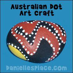 Výsledek obrázku pro australian paintings craft for children