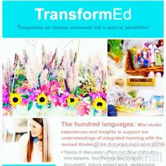 Finally blogged about the Reggio Emilia inspired  languages #TransformEdWorkshop that I hosted in November ! This is such a thoughtful video testimonial created by one participant @maureencicinelli who I am so touched by!!!