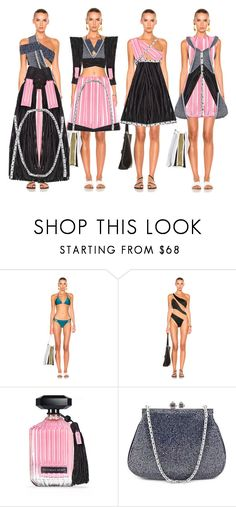 """""""Fashion Collection"""" by coppin-s ❤ liked on Polyvore featuring ADRIANA DEGREAS, Norma Kamali, Victoria's Secret and Judith Leiber"""