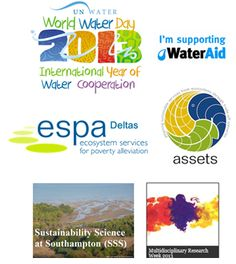 The full-day celebration was in support of:  World Water Day 2013; International Year of Water Cooperation; WaterAid Local Southampton Group. Sponsored by:  ESPA Assets; ESPA Deltas.In association with:Sustainability Science at Southampton; and Multidisciplinary Research Week 2013.