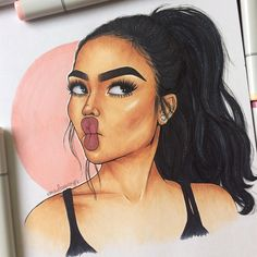 "15.5k Likes, 239 Comments - ✨Emilia✨ (@emzdrawings) on Instagram: ""Inspired by @indialove ✨"""