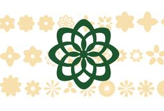 Acta Symbols Flowers OT published by DSType. #fonts #spring #flowerpower