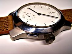 Finished … the slider is for time setting. Omega Watch, Birth, Watches, Handmade, Accessories, Fashion, Moda, Hand Made, Wristwatches