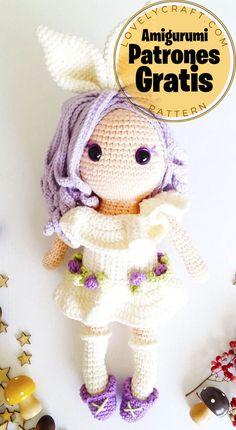 Crochet Toys Patterns, Amigurumi Patterns, Amigurumi Doll, Stuffed Toys Patterns, Crochet Dolls, Crochet Hats, Craft Free, Doll Accessories, Pin Cushions