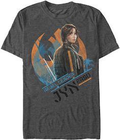 Star Wars Rouge One Jyn Erso Rebel Leader T-Shirt - http://www.thlog.com/star-wars-rouge-one-jyn-erso-rebel-leader-t-shirt/