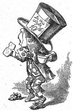 Mad Hatter by John Tenniel