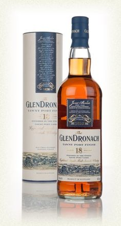 Glendronach 18 Year Old (Tawny Port Cask Finish)
