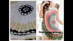 Fabulous Crochet a Little Black Crochet Dress Ideas. Georgeous Crochet a Little Black Crochet Dress Ideas. Crochet Vest Pattern, Crochet Tunic, Freeform Crochet, Bead Crochet, Filet Crochet, Crochet Baby, Knit Crochet, Crochet Patterns, Crochet Dress Girl