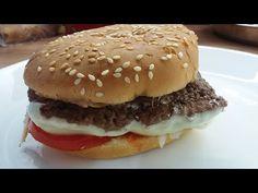 Sajtburger 6 perc alatt, a legegyszerűbb recept!!! :-) Cheeseburger in 6... Ketchup, Barbecue, Hamburger, The Creator, Easy Meals, Recipes, Barrel Smoker, Recipies, Bbq
