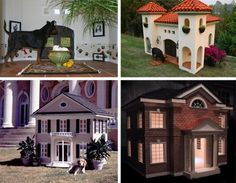 Dog houses - Addi will have a house like this someday! lol