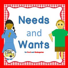 This needs and wants activity package includes 41 printable pages.  It is a fun way to teach young children using engaging activities about needs and wants, making choices, introducing money, scarcity, and opportunity cost.  This includes a needs and wants song, needs and wants booklet, cut-n-paste needs and wants activity, making choices cut-n-paste activity, a what I want for my birthday needs and wants flip book, make a wallet activity, make a purse activity, play money, match, sort and…