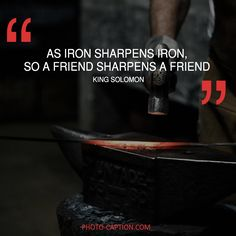 ''As iron sharpens iron, so a friend sharpens a friend.'' King Solomon Check out the link in the bio for more best friend captions #friendship #bestfriend #love #BOYFRIEND #happy #friend #best #bestie #quotegram #quoteoftheday #photocaption #quote #quotes #quotegram #quoteoftheday #caption #captions #photocaption #FF #instafollow #l4l #tagforlikes #followback