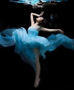 Underwater blue....