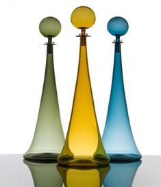 Le creazioni in vetro di Joe Cariati-fantastic color in glass