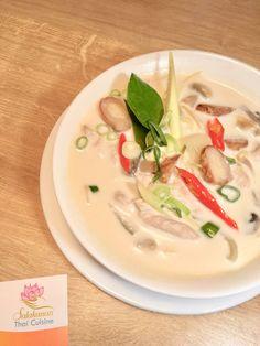 tom kha gai Salakanan thai restaurant offenburg Thai Restaurant, Soup, Ethnic Recipes, Home Made, Foods, Soups