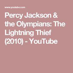 Percy Jackson & the Olympians: The Lightning Thief (2010) - YouTube