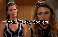 Hot The Young and The Restless (Y&R) spoilers for episodes the week of Monday, August 8 thru Friday, August 12 reveal…