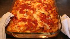 Lidia Bastianich's easy baked ziti will be an instant family favorite