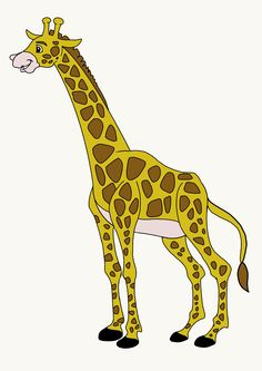 giraffe drawing draw easy drawings steps step few colour easydrawingguides beginners painting looking