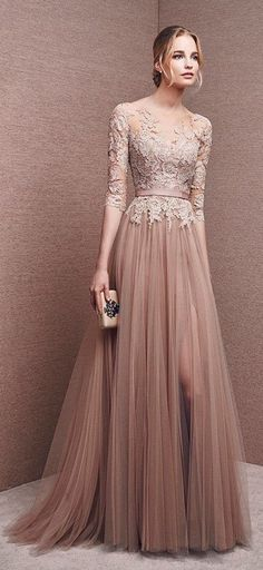 Elegant prom dress long prom dress lace prom dress long sleeve prom dress a line prom dress evening dress charming affordable prom dress 15250 from Athenabridal Long Prom Gowns, Long Bridesmaid Dresses, Formal Evening Dresses, Dress Long, Dress Prom, Long Sleeve Formal Dress, Formal Prom, Formal Gowns, Long Sleeve Gown
