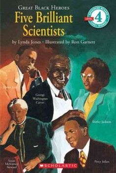 "Paperback - ""This easy-reader provides short, concise biographical sketches of the early lives and major accomplishments of Susan McKinney Steward, George Washington Carver, Ernest Everett Just, Percy Black History Books, Black History Facts, Black Books, Black History Month, Black Month, African American History, African American Scientists, American Art, American Women"