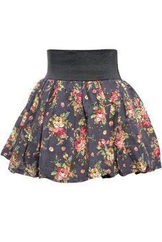 I like this Floral skirt just needs to be longer