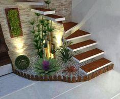 39 Cheap and Easy DIY Garden Ideas Everyone Can Do – sherwooddelapena House Plants Decor, Plant Decor, Interior Garden, Home Interior Design, Interior Stairs, Interior Livingroom, Exterior Design, Home Stairs Design, Inside Garden