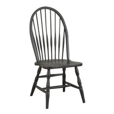 Windsor Dining Chair in Antique Black | Jet.com