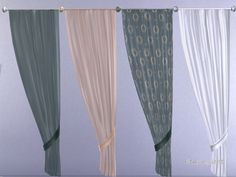 enjoy this pretty transparent Curtain  Found in TSR Category 'Sims 4 Paintings & Posters'
